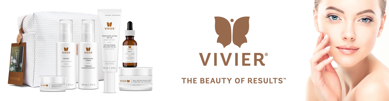 Vivier Skin Product Line - Slider